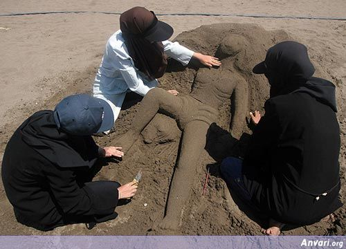 Sand Art 16 - Sand Art in Iran
