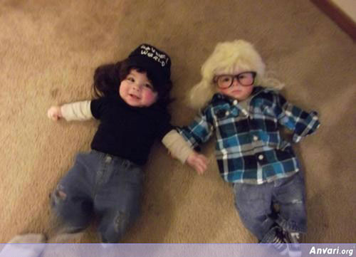 hipster kids - Signs of Bad Parenthood