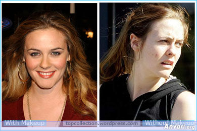 Alicia Silverstone - Stars without Make Up
