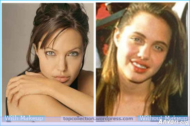 Angelina Jolie - Stars without Make Up