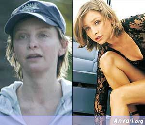 Calista-Flockhart Without Makeup - Stars without Make Up