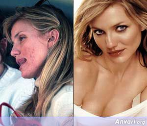 Cameron-Diaz Without Makeup - Stars without Make Up