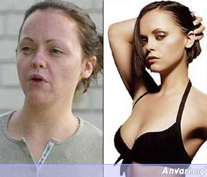 Christina-Ricci Without Makeup - Stars without Make Up