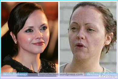 Christina Ricci - Stars without Make Up