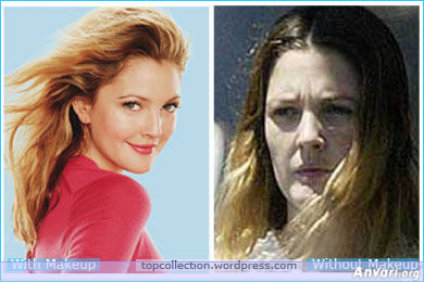 Drew Barrymore - Stars without Make Up