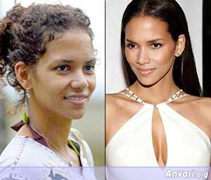 Halle-Berry Without Makeup - Stars without Make Up