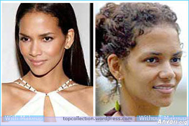 Halle Berry - Stars without Make Up