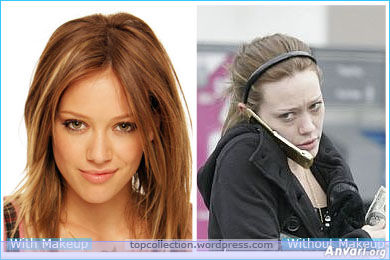 Hilary Duff - Stars without Make Up