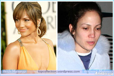 Jennifer Lopez No Make Up