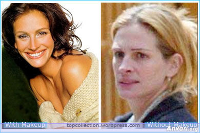 Julia Roberts - Stars without Make Up