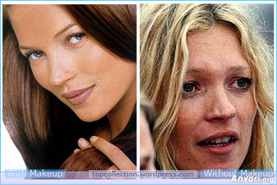 Kate Moss - Stars without Make Up