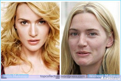 Kate Winslet - Stars without Make Up