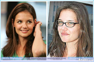 Katie Holmes - Stars without Make Up