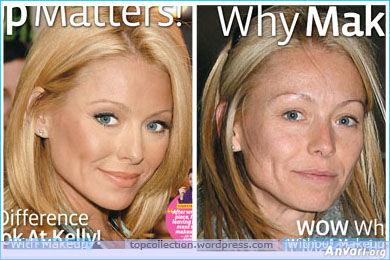 Kelly Ripa - Stars without Make Up