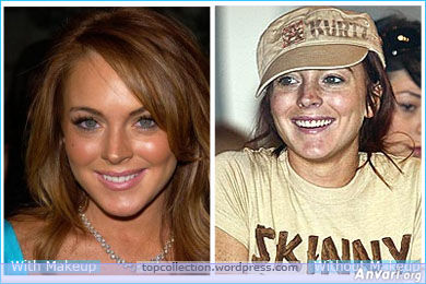 Lindsay Lohan - Stars without Make Up