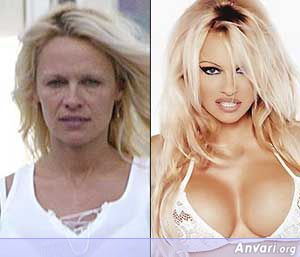 Pamela-Anderson Without Makeup - Stars without Make Up