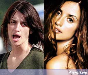 Penelope-Cruz Without Makeup - Stars without Make Up