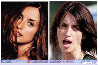 Penelope Cruz - Stars without Make Up