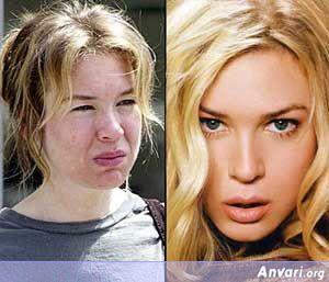 Renee-Zellweger Without Makeup - Stars without Make Up
