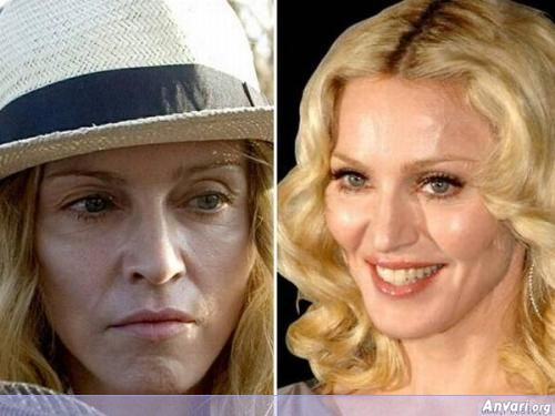 Stars Madonna - Stars without Make Up