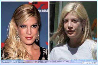 Tori Spelling - Stars without Make Up