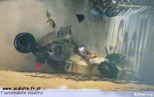brundle australie 96 bis - Strange Accidents