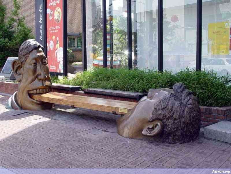 EatingBiscuit - Strange Statues around the World