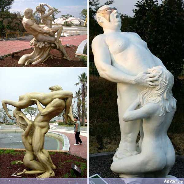 Love Land - Strange Statues around the World