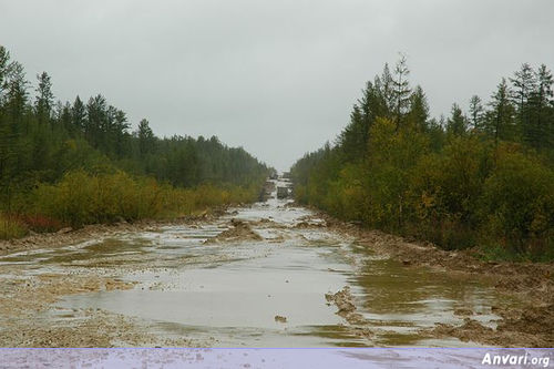 Russian Siberian Road To Yakutsk - The Most Dangerous Roads in the World