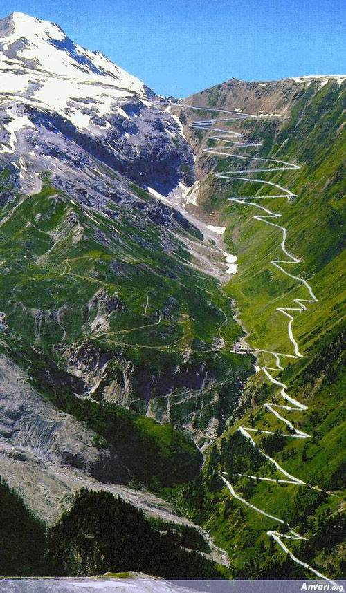 Stelvio Pass Road Redefining Switchbacks - The Most Dangerous Roads in the World