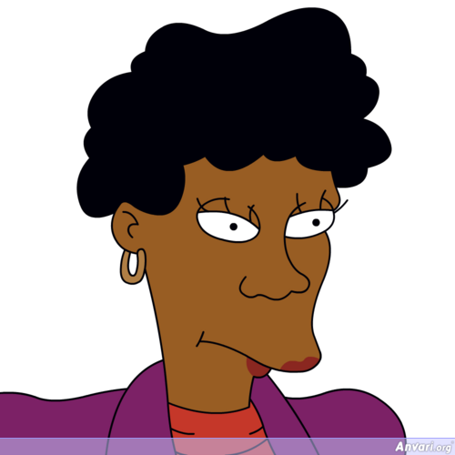 Bernice Hibbert - The Simpsons Characters Picture Gallery