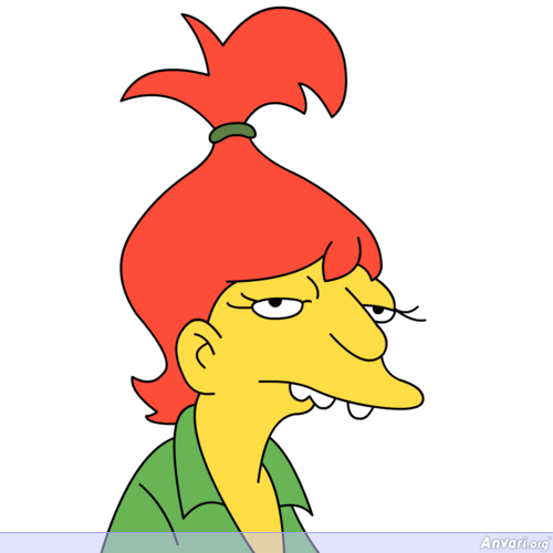Brandine Del Roy - The Simpsons Characters Picture Gallery