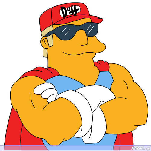 Duffman - The Simpsons Characters Picture Gallery