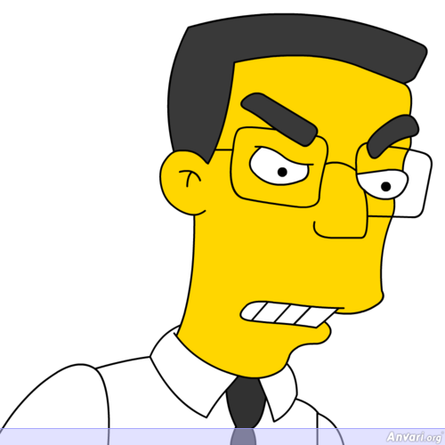 Frank Grimes - The Simpsons Characters Picture Gallery