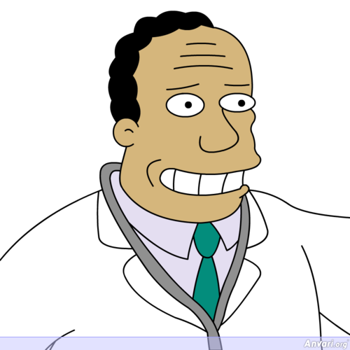 Julius Hibbert - The Simpsons Characters Picture Gallery