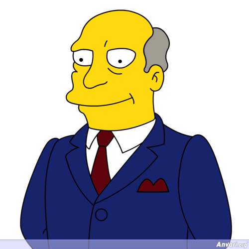 Mr Chalmers - The Simpsons Characters Picture Gallery