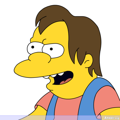 Nelson Muntz - The Simpsons Characters Picture Gallery