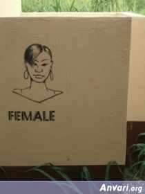 15 afemaleghanaxe2 - Toilet Signs Around the World