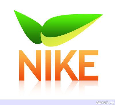 nike logo. NikeLogo - Web 2.0 Logo of