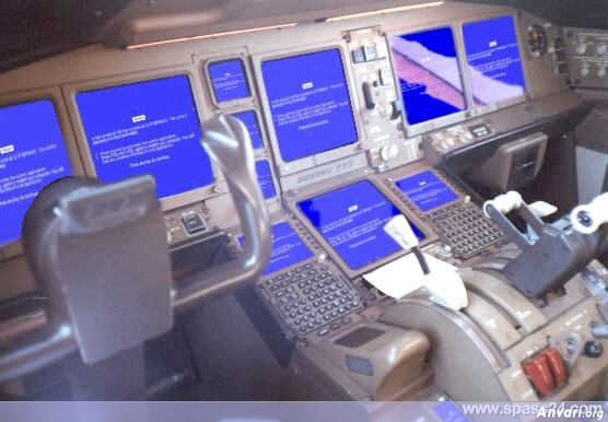 When Airplanes Run Microsoft Windows - When Airplanes Run Microsoft Windows