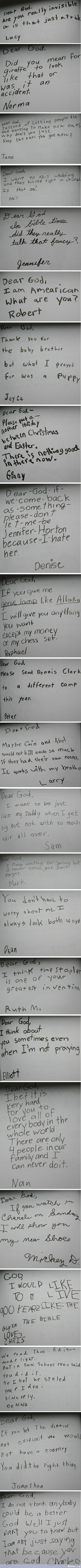 Dear God - Cute Kids