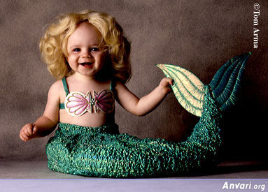 Mermaid - Cute Kids