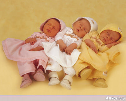Sleeping Three - Cute Kids