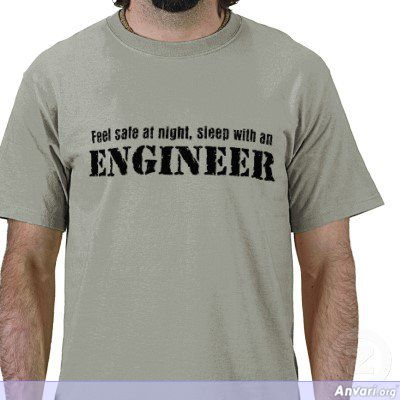 Sleep with an Engineer Feel Safe at Night - Engineers
