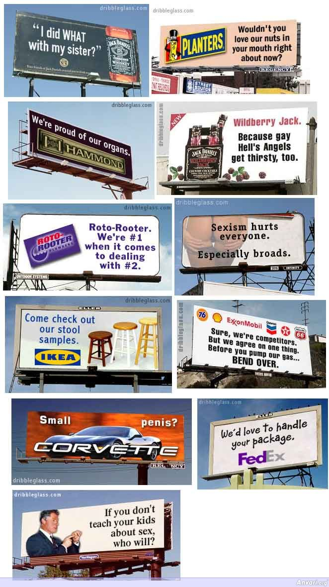 Actual Advertisement Signs - Actual Advertisement Signs