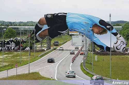 Outdoor Advertising Adidas Ad - Funny Billboard Ads