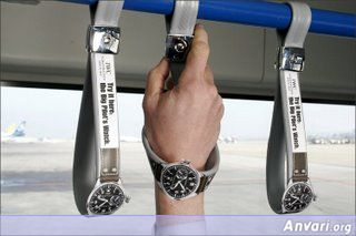 Outdoor Advertising Small Iwc Watch - Funny Billboard Ads