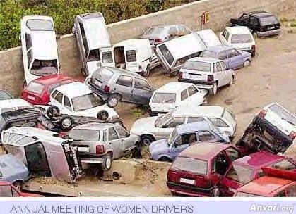 Annual Meeting of Women Drivers - Annual Meeting of Women Drivers