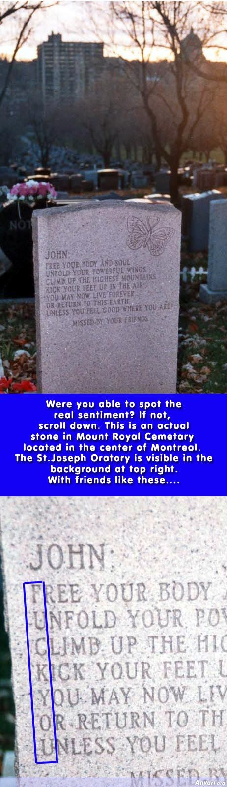 Great Tombstone - Misc