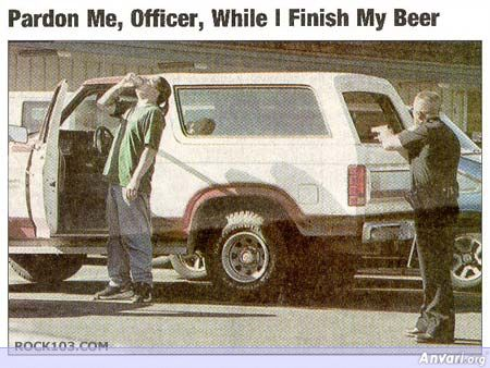 Let Me Finish My Beer First Officer - Misc